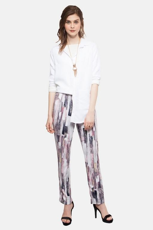 Madeleine Pants in Marble Pink